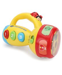 Vtech Crazy Colors Torch - Yellow And Red