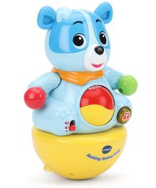 Vtech Baby Rocking Rolling Cody Learning Toy - Blue And Yellow
