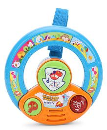 Vtech Spin And Explore Steering Wheel - Blue And Yellow