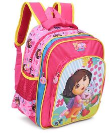 Dora Backpack Pink - 14 Inches