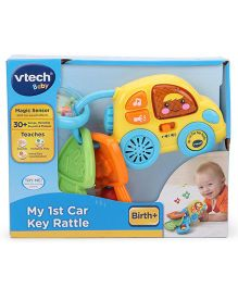 Vtech My First Key Rattle - Yellow And Blue