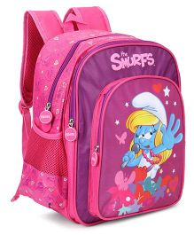 Smurfs Singing Star Backpack Pink - 18 Inches