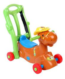 Vtech 2 In 1 Ride On Rocker - Multicolor