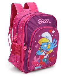 Smurfs Singing Star Backpack Pink - 16 Inches