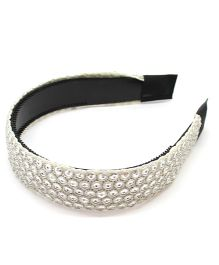 Eternz Sequence Style Hair band - White