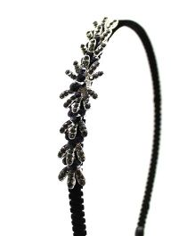 Eternz Studded Hair band - Black