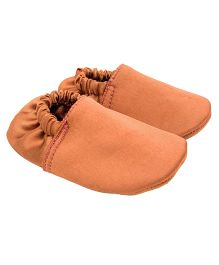 Eternz Handcrafted Elasticated Boots - Clay