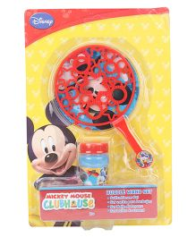Disney Mickey Mouse Clubhouse Bubble Wand Set - Red