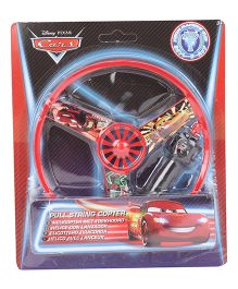 Disney Cars Pull String Copter - Red