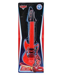 Disney Cars Musical Instrument Guitar - Red