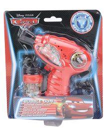 Disney Pixar Cars Bubble Gun - Red
