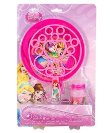Disney Princess Pink Frisbee And Giant Bubble - Pink