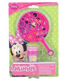Disney Minnie Bubble Wand Set - Pink