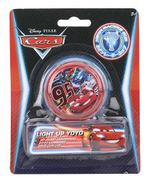 Disney Pixar Cars Light Up Yoyo - Red