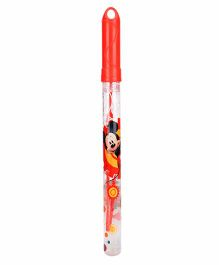 Disney Mickey Mouse Clubhouse Bubble Stick - Red