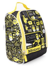 Minions Multi Utility Bag - Black And Yellow