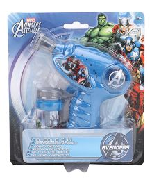 Marvel Avengers Assemble Bubble Gun - Blue