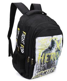 DC Comics Batman Backpack Black - 12 Inches