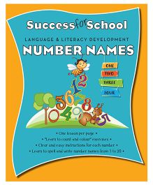 Success For School Number Names - English