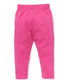 Babyhug Full Length Leggings - Pink