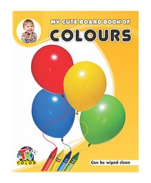My Cute Board Book Of Colors - Yellow