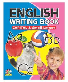 English Writing Book Capital And Small Letters - English