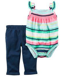 Carter's 2-Piece Bodysuit & Pant Set - Multicolour Navy Blue