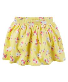 Carter's Floral Skort - Yellow