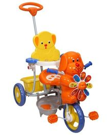 Mee Mee - Puppy Face Tricycle Orange