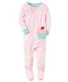 Carter's Infant Sleepsuit - Pink Sea Green