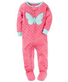 Carter's Infant Sleepsuit - Pink