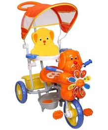Mee Mee Baby Tricycle With Canopy Orange - MM-236A