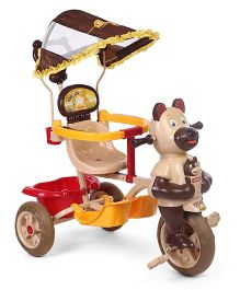 Toyzone Baby Kangaroo Tricycle - Brown Beige