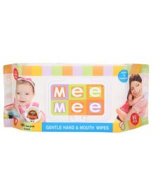 Mee Mee Hand and Mouth Baby Wipes 80 Pieces