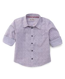 The KidShop Small Print Shirt - Mauve