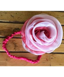 Flutterbows Dual Color Headband - Baby Pink & Coral Pink