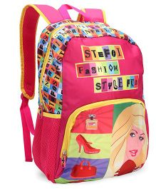 Steffi 17 Backpack Fuchia Multicolor - 16 Inches