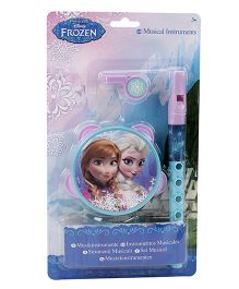 Disney Frozen Musical Instrument Set - Blue