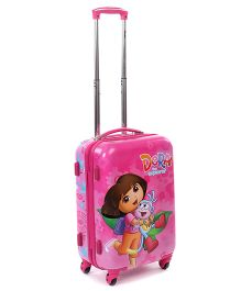 Dora Play Hard Trolley Bag Pink - 20 Inches