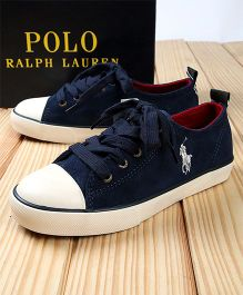 Polo Ralph Lauren Sneakers - Navy Blue & White