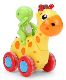 Giraffe Shape Toy - Yellow