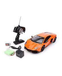 Mitashi Dash RC Rechargeable Lamborghini Aventador Car - Orange