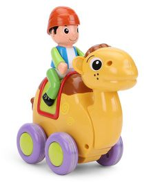 Camel Shape Toy - Yellow