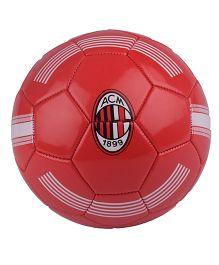 Kidsmojo A.C. Milan Football Size 5 - Red