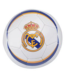 Kidsmojo Real Madrid Football Size 5 - White & Blue