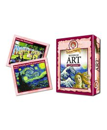 OutSet Media Prof Noggin's History of Art Card Game - 30 Cards