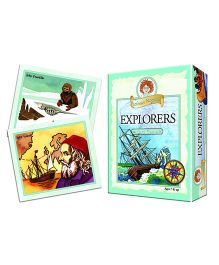 OutSet Media Prof Noggin's Explorers Card Game - 30 Cards