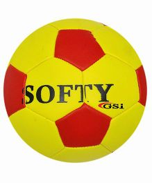 GSI Soft Football - Yellow And Red