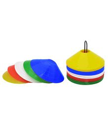 GSI Saucer Training Cones With Stand Set of 50 - Multicolor