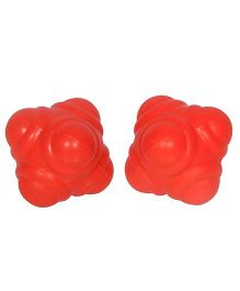 GSI Pair Of Reaction Balls For Sports Training - Red
